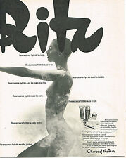 PUBLICITE ADVERTISING 044  1973  CHARLES OF THE RITZ  cosmétiques pour le buste