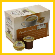 Grove Square Cappuccino Caramel 24 K-cups for Keurig