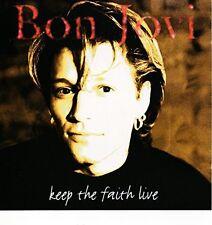 Bon Jovi Keep the faith (live, #ll15487) [CD]