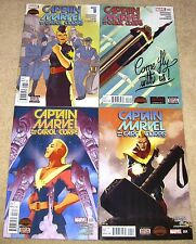 Captain Marvel Carol Corps 1 2 3 4 1-4 Secret Wars Complete Run Marvel Comics NM