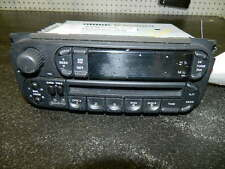 2002 2003 2004 2005 DODGE CARAVAN/LIBERTY/RAM 1500 AM/FM  CD Radio OEM