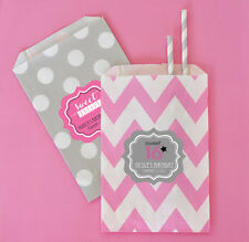 36 Personalized Sweet 16/15 Birthday Party Goodie Bags Favor Bags