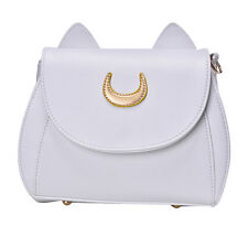 PU Leather Shoulder Tote Purse Bag Handbag Girl Cosplay Sailor Moon Cat Casual 0