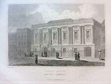 1830 Print; Public Office, Moor St (now Moor Street Station), Birmingham