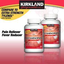 Kirkland Signature Extra Strength Acetaminophen 500 mg., 1000 Caplets