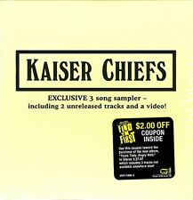 Kaiser Chiefs - Exclusive 3 Song Sampler [ECD] (2007)  US Sampler CD  NEW/SEALED