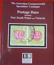 AUSTRALIAN 2014 BRUSDEN WHITE SPECIALISTS' CATALOGUE POSTAGE DUES 2nd EDITION