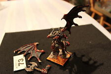 Games Workshop Warhammer Chaos Bloodthirster of Khorne Pro Painted Metal OOP