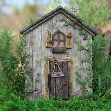 Miniature Dollhouse FAIRY GARDEN ~ Ladybug Fairy Door ~ NEW