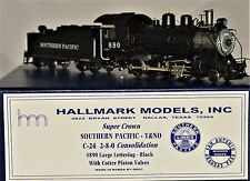 HO Brass Southern Pacific/T&NO C-24 Class 2-8-0 #890 Hallmark Super Crown MINT