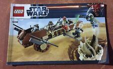 LEGO Star Wars Desert Skiff 9496 INSTRUCTION BOOK MANUAL ONLY boba fett jabba