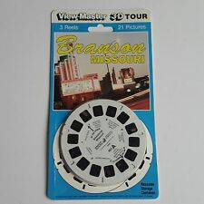Viewmaster three reel carded packet set 3D BRANSON MISSOURI