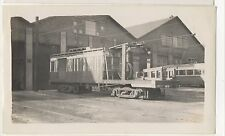 YOUNGSTOWN MUNICIPAL RAILWAY Freight Trolley Car Barn OH Ohio Photograph