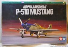 North American P-51D Mustang Fighter Plane 1:72 Scale Model From Tamiya