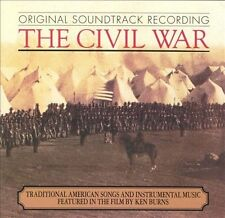 The Civil War [Original TV Soundtrack] by Original Soundtrack (CD, Dec-1990, Non