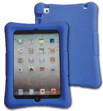 Kid Friendly Protective Silicone Shell Case for iPad mini (Blue)
