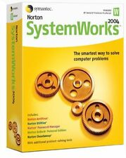 Norton SystemWorks 2004 Utilities Suite CD-ROM Symantec AntiVirus GoBack System