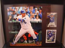 Billy Butler plaque 11 x 14 with 2 cards Kansas City Royals