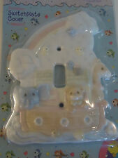New Sealed PRECIOUS MOMENTS Noahs Ark Light Switch Single Toggle Cover Plate