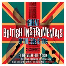 Great British Instrumentals: 50s & 60s VARIOUS ARTISTS Best Of 60 Songs NEW 3 CD