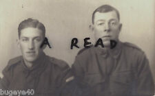 WW1 soldier group AIF Anzac Australian Imperial Forces 1st Australian Division