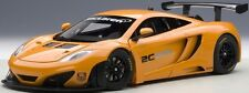 AUTOart 81340 - 1/18 McLAREN MP4-12C GT3 PRESENTATION CAR - METALLIC ORANGE -NEU