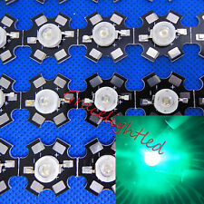 5pcs 3W Cyan High Power LED lamp Bead 490nm -495nm with 20mm star base for diy