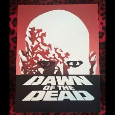 "Dawn of the Dead Back Patch!  11"" X 14.5"" Horror Punk Rockabilly Psychobilly"