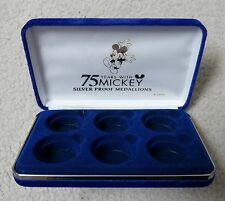 Display Case - DISNEY MICKEY 75TH ANNIVERSARY DISPLAY CASE -- NO COINS INCLUDED