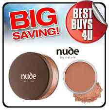 NUDE BY NATURE BRONZER 15G - loose make up bronzing powder bronze mineral