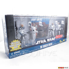 Star Wars Clone Wars animated series The Hidden Enemy 4 clone action figure pack