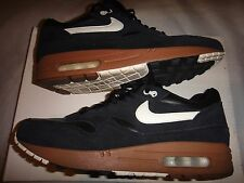 Nike Air Max 1 Premium 2012 Black Sail and Hazelnut Size 8 DEADSTOCK!!!!!!!