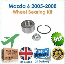 Fits Mazda 6 2.0 2.3 MPS Turbo 2005 2008 Front Wheel Bearing Kit 3 Piece NEW!