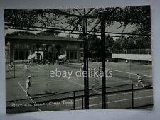 MONTECATINI TERME Campo Tennis tennisti vecchia cartolina Pistoia