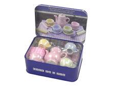 Tea Party en una lata de regalo para niños Childrens Craft Juguete Diversión De Viaje Nuevo