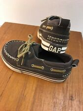 Baby GAP  Brown Casual Boat Shoes Toddler Boys' Size 11