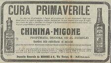 W3066 Chinina MIGONE - Pubblicità 1910 - Advertising