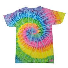 Tie Dye T Shirt Top Tee Tye Die Music Festival Hipster Indie Retro Unisex