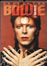 DAVID BOWIE  2002 CALENDAR,  never used, by Oliver Books
