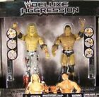 WWE Deluxe Aggression Edge Vs Batista By Jakks (Rare Set) Mint In Package