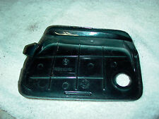 BMW 1990-93 K1 OEM right front glove lid Cover Trim Panel classic black, no lock
