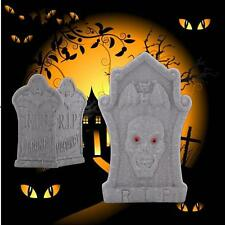 Halloween Skeleton Graveyard Tombstone Foam Stone Prop Haunted Bar Decoration