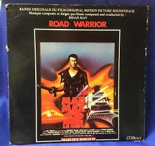 "Vintage 1982 ""Mad Max 2""movie soundtrack lp Mel Gibson Brian May Italian release"