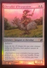 Chevalier d'Orgeprairie PREMIUM / FOIL VF - French Knight of Meadowgrain - Mtg