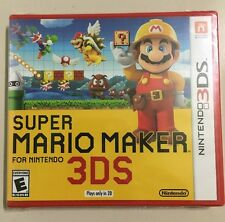 Super Mario Maker - Nintendo 3DS - Brand New! *FREE SHIPPING*