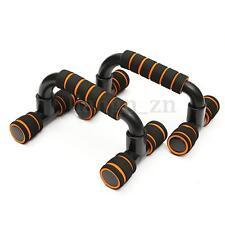 1 Paire barres push-up poignées de pompe presse fitness musculation gym exercice