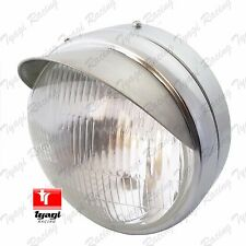 """NEW ROYAL ENFIELD CLASSIC UCE MODEL 7"""" COMPLETE HEAD LIGHT WITH PEAK 5114NM"""