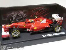 FERRARI F2012 F.MASSA F1 GP 2012 HOTWHEELS 1/18 #X5521
