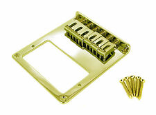 Telecaster-type Gold Electric Guitar Humbucker Bridge Plate-Bottom Load 31-69-01
