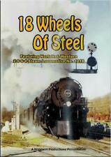 18 Wheels of Steam Norfolk & Western 2-6-6-4 1218 DVD NEW Hopewell N&W Class A